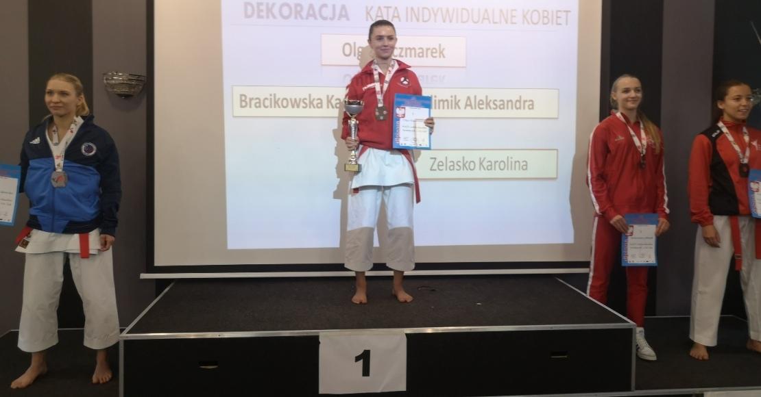 Olga Kaczmarek ze złotym medalem Mistrzostw Polski (foto)