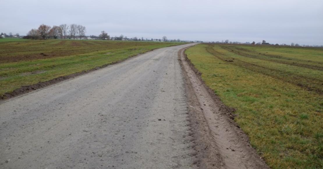 Zakończono prace na drodze w Gorzewie