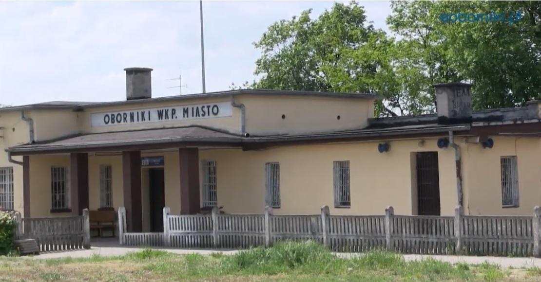 Co z budową dworca kolejowego w Obornikach?