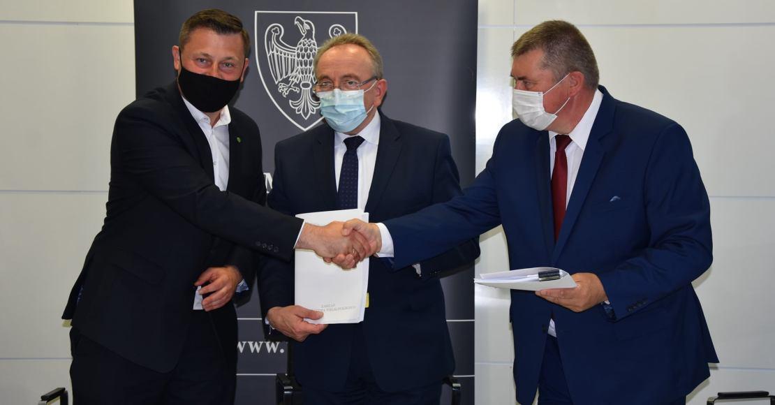 Burmistrz Rogoźna podpisał umowę na dofinansowanie żłobka