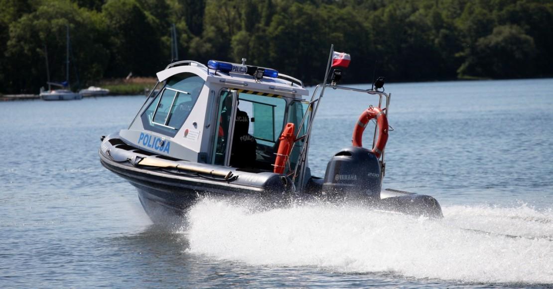 Policja apeluje o ostrożność nad wodą!