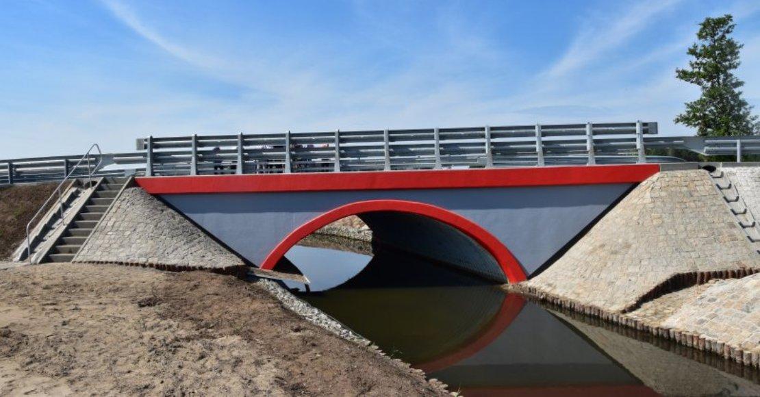 Most na Flincie oficjalnie odebrany