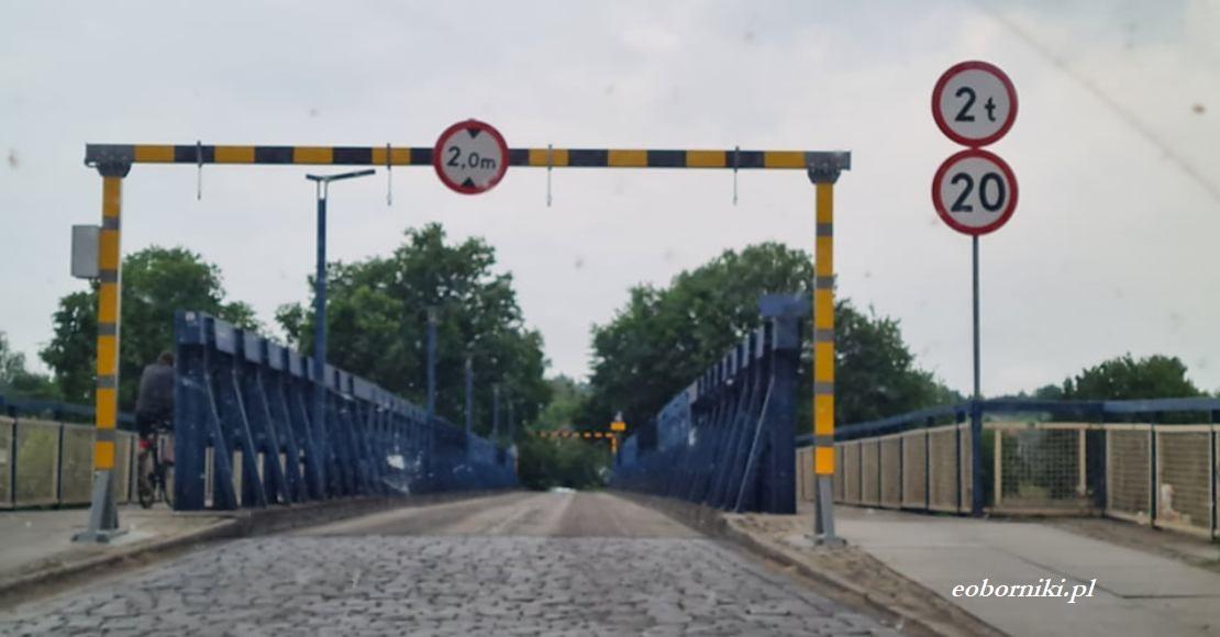 """Remont """"małego mostu"""" w Obornikach"""