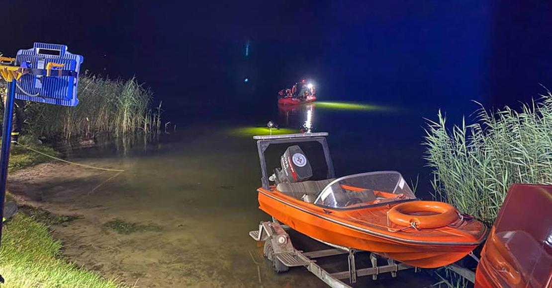 Zakończono poszukiwania mężczyzny, z jeziora wyłowiono zwłoki.