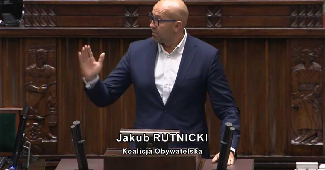 Poseł Rutnicki krytykuje Polski Ład