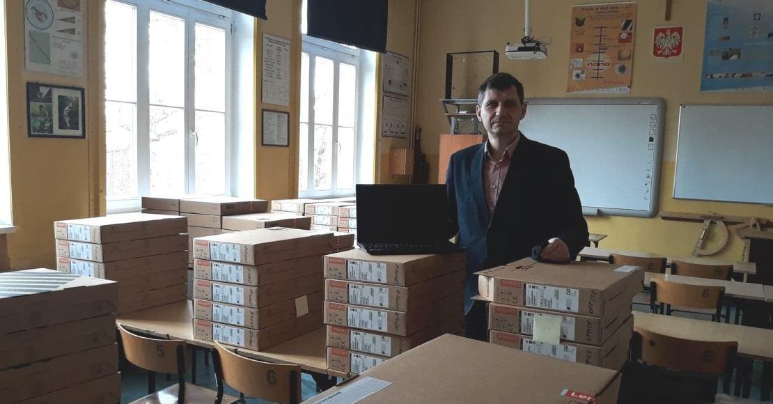 Do techników trafiły 193 laptopy (foty)