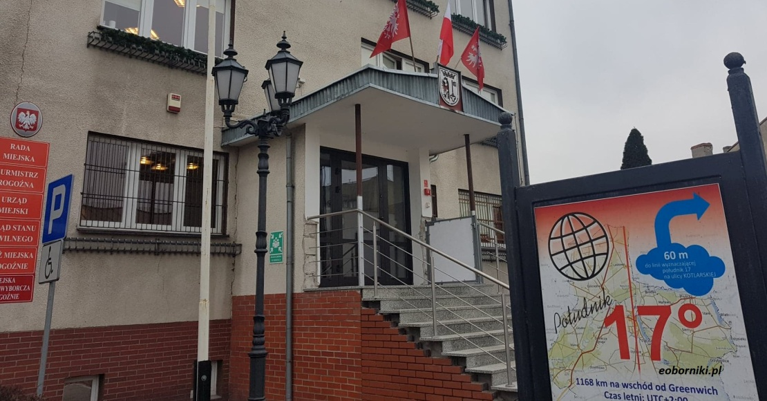 Burmistrz Rogoźna ogłosił otwarty konkurs ofert