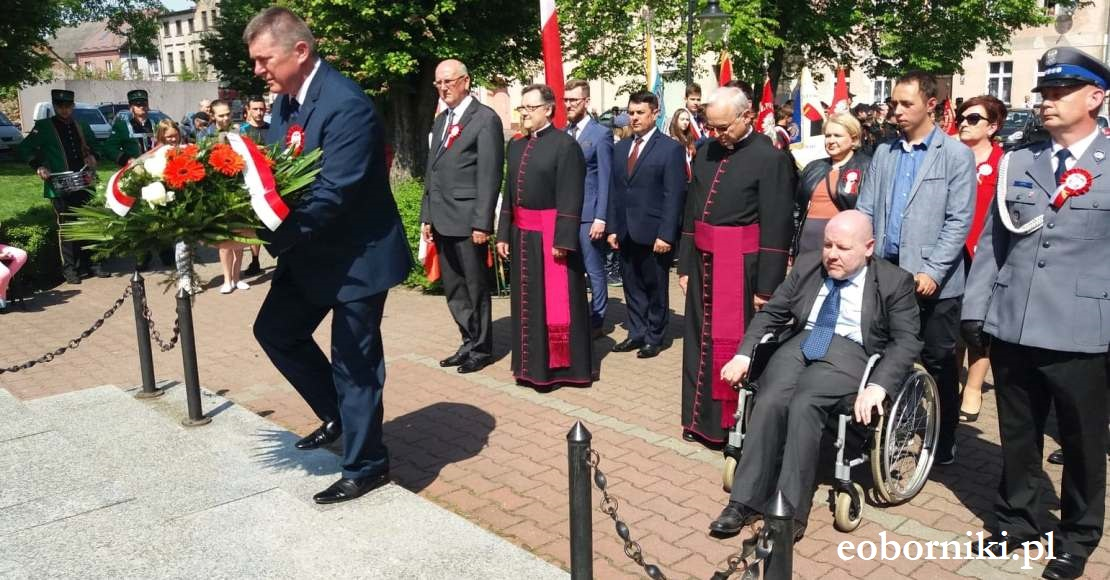 Obchody Święta Konstytucji 3 Maja w Rogoźnie