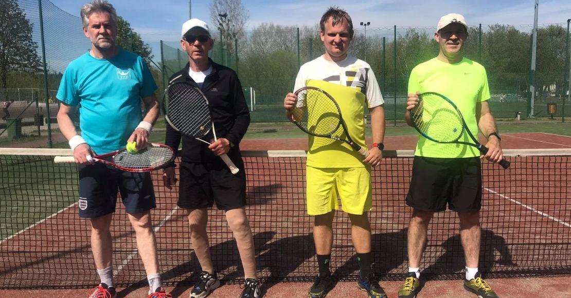 Szymot i Gryszczenia wygrali turniej tenisa ziemnego w Obornikach(foto)