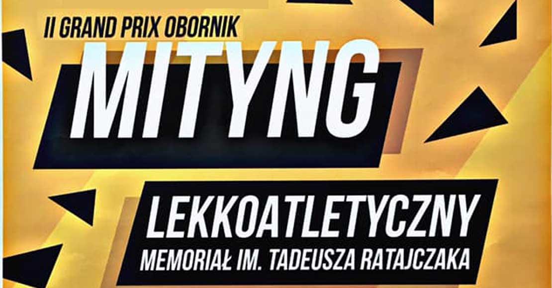 18.09.2021 memoriał im. T.Ratajczaka w Obornikach!
