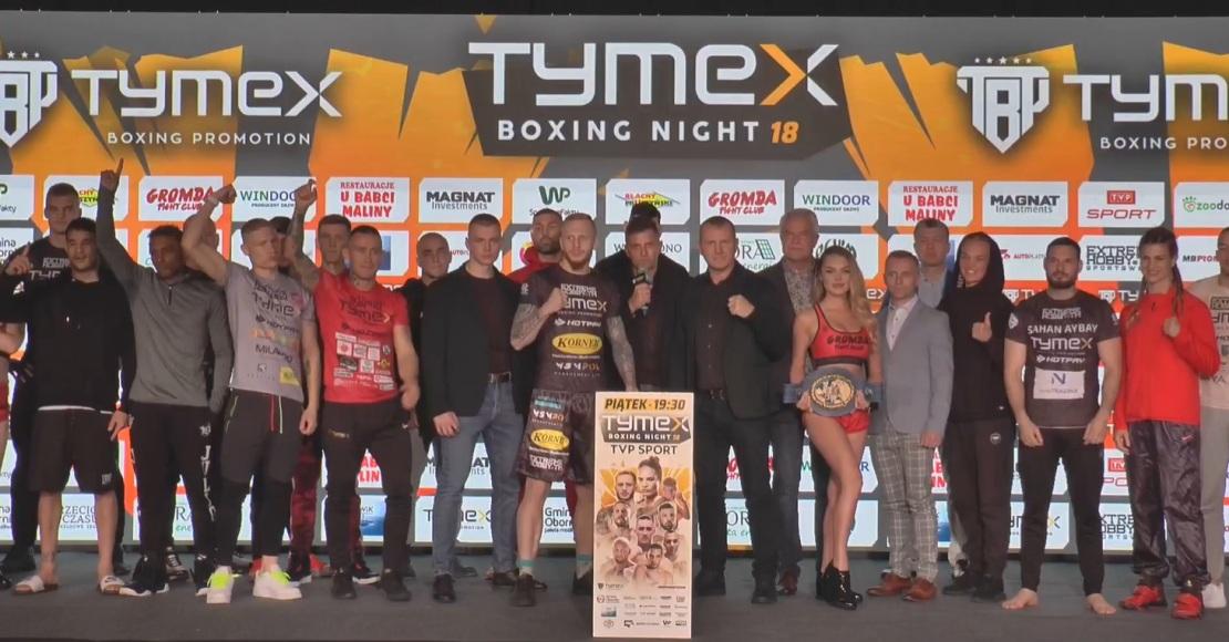 TYMEX Boxing Night 18 - ceremonia ważenia (film)