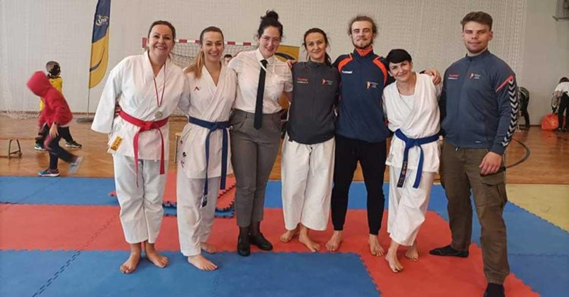 Medalowe sukcesy Obornickiego Klubu Karate