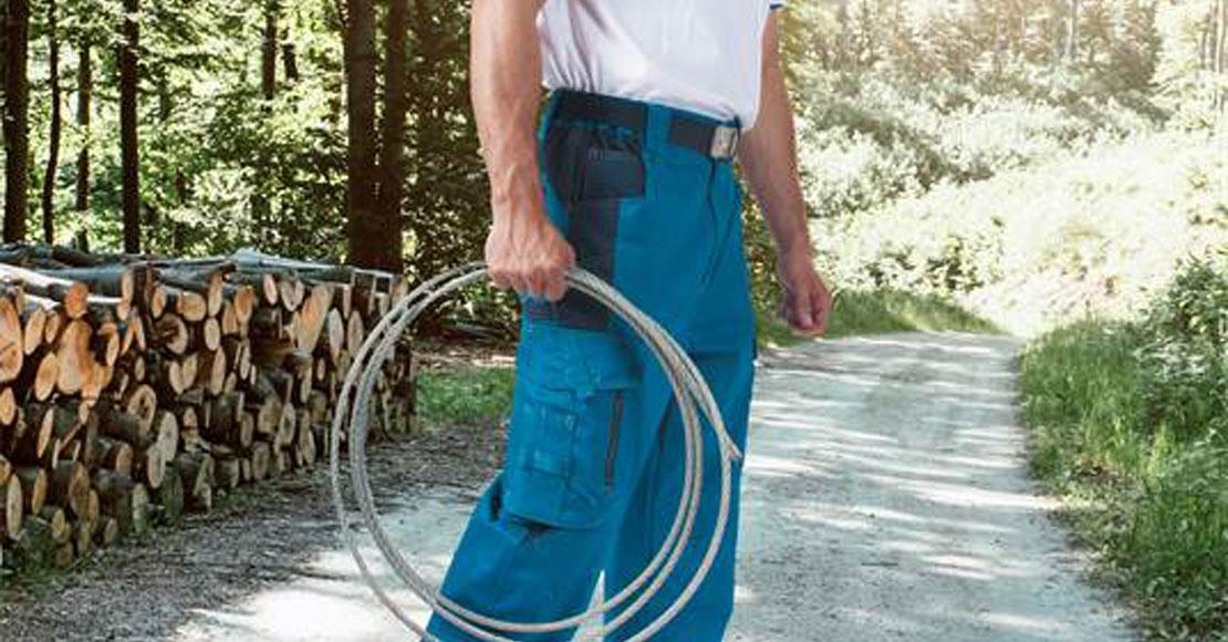 Spodnie robocze dla wymagających