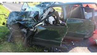 Policja oficjalnie o wypadku w Dąbrówce Leśnej